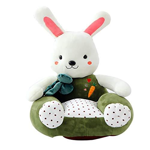 Sessel NUBAO Mini Schöne Farben Sofa Couch, Kuschelig Boden Stuhl, Thema Tier für 1-5 Jahre Alt Kinder 50×50cm Sitzsäcke (Color : Green) (Sofas Schöne)