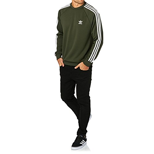 adidas Herren Sst Crew Sweatshirt Mehrfarbig (CARNOC)