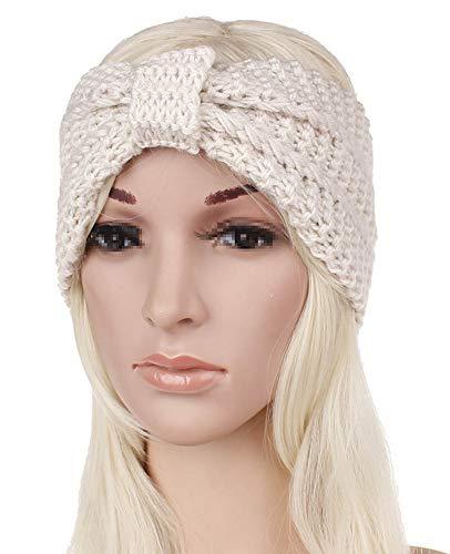 be4f516d9effa6 Winterturban-Stirnband für Damen, gestrickt, gehäkelt, gedrehtes Haarband,  Kopfbedeckung,.