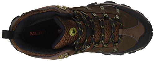 Merrell Terramorph Mid Waterproof, Chaussures de Randonnée Hautes Homme Noir (Slate Black)
