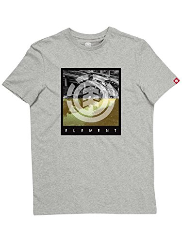 Element Herren T-Shirt Flow Grey Heather