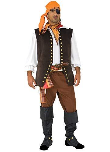 Karneval Stamco Kostüm - Unbekannt Stamco, Freibeuter Pier, Piratenkostüm für Herren