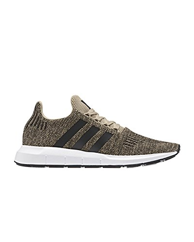 adidas Unisex-Erwachsene Swift Run Sneaker, Mehrfarbig (Raw Gold/Core Black/Ftwr White Cq2117), 43 1/3 EU
