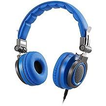 Auriculares de Diadema Estéreo para Niños, AGPTEK Cascos Plegable Cierrados Ligeros y Ajustable con Limitación