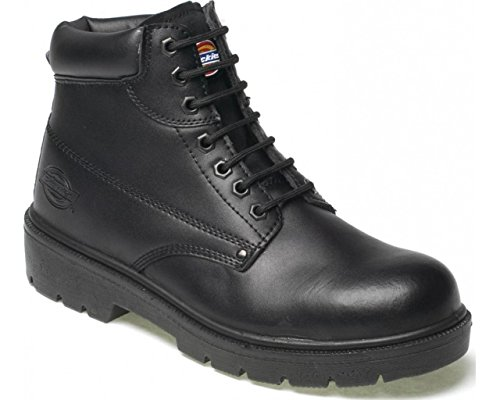 d669d550a6b76 MENS DICKIES ANTRIM SAFETY WORK BOOTS SIZE UK 4 - 13 BLACK BROWN  FA23333-Black-UK 5.5 (EU 39)