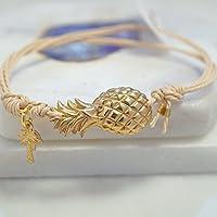 Ananas und Palmband Armband