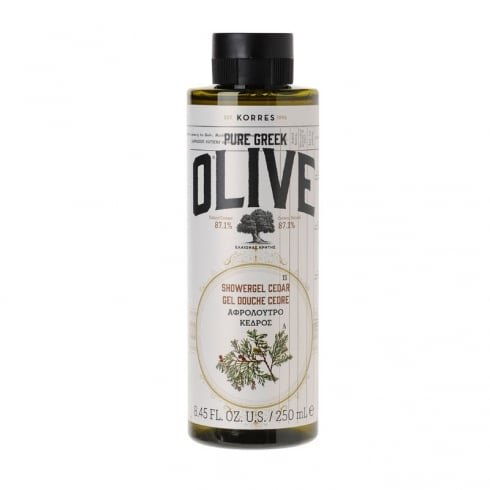 korres-gel-douche-pure-greek-olive-with-cedar-250-ml