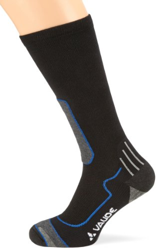 VAUDE Herren Socken TH Wool Socks Long, blue, 45-47, 05069 (Herren Wool Socks Apparel)