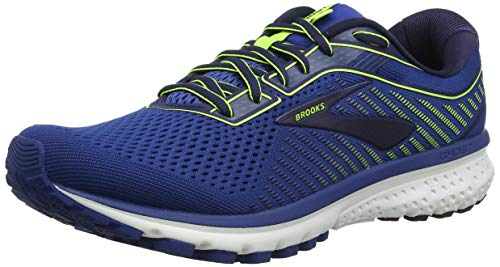 Brooks Ghost 12, Scarpe da Running Uomo, Blu (Blue/Navy/Nightlife 402), 44 EU