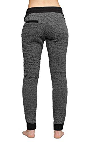 OnePiece Snug pantalon pour femme Gris (Dark Grey Mel)