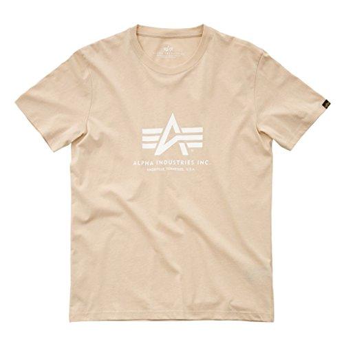 Alpha Industries Basic T-Shirt Beige L