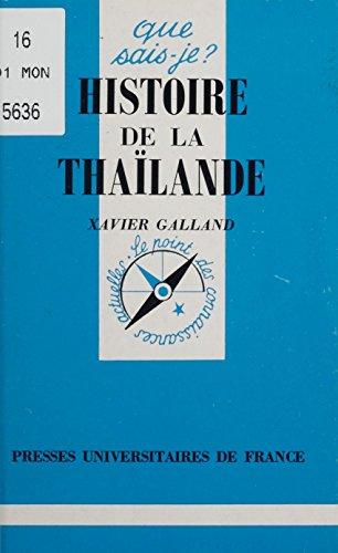 Histoire de la Thaïlande (Que sais-je ? t. 1095) PDF Books