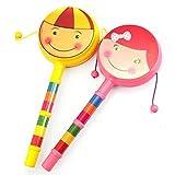 Holidaysummer 2-teiliges Sicherheitsspielzeug für Babys und Kleinkinder, Intelligenz, lustiges Lernspielzeug