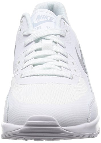 Nike Damen Wmns Air Max 90 Ultra 2.0 Sneakers, Elfenbein (White/Mtlc Platinum/White/Black), 38 EU - 4