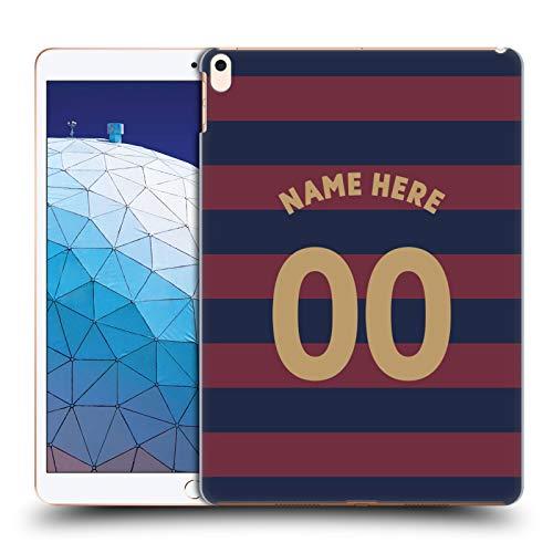 Head Case Designs Personalisierte Individuelle Newcastle United FC NUFC Away Kit 2018/19 Crest Harte Rueckseiten Huelle kompatibel mit iPad Air (2019) -