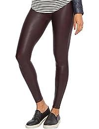 Spanx Damen Leggings Faux Leather