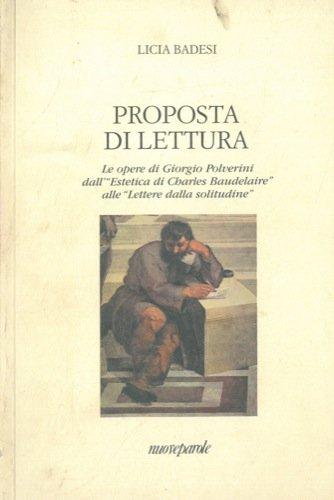 Proposta di lettura. Le opere di Giorgio Polverini dall'