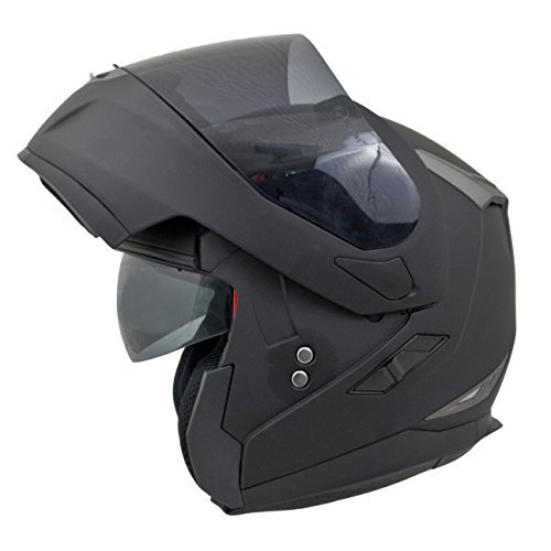 MT Flux moto motocicleta Flip Up Front DVS casco
