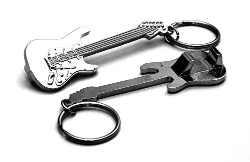 Gitarre Metall Flaschenöffner Schlüsselanhänger Fender Strat Modell