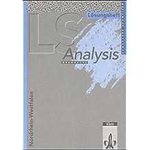Lambacher-Schweizer, Sekundarstufe II, Neubearbeitung, Analysis (Nordrhein-Westfalen). Grundkurs, Lösungsheft
