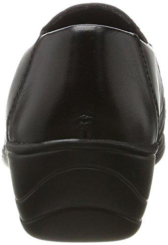 Comfortabel 941955, Mocassini Donna nero (nero)
