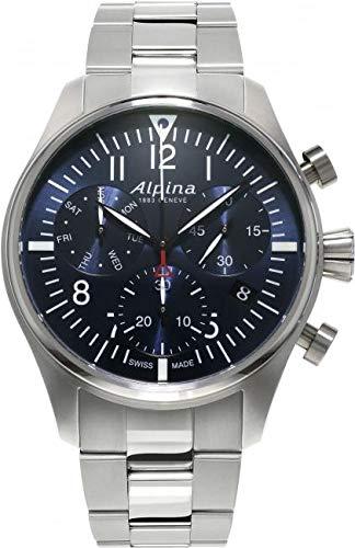 Alpina Geneve Startimer Pilot Quartz Chronograph AL-371NN4S6B Cronografo uomo
