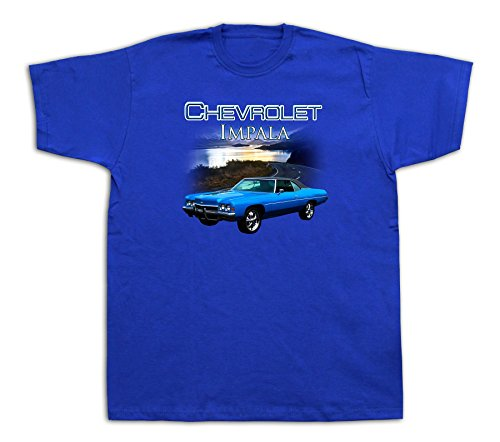 new-mens-cotton-t-shirt-print-1972-chevrolet-impala-hot-rod-lake-muscle-car
