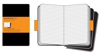 (Moleskine Cahiers Set of 3 Ruled Journal) By Moleskine (Author) Imitation Leather on 01-Jan-2008