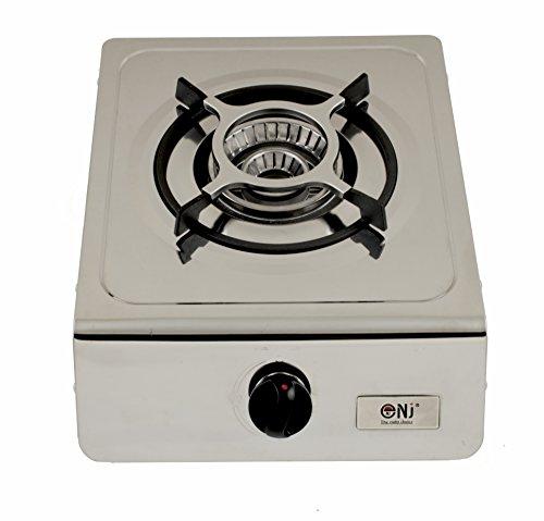 Nj-100sd quemador de gas estufa única portátil acero inoxidable catering 4.0kW interior