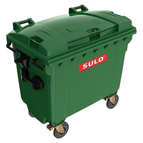 #original SULO Abfalltonne Mülltonne Müllbehälter Müllcontainer 660L NEU grün#