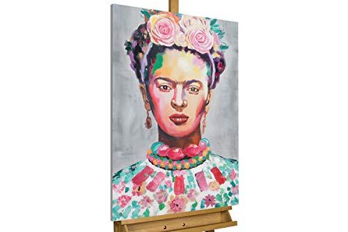 Kunstloft® Cuadro acrílico 'Frida' 60x90cm | Original