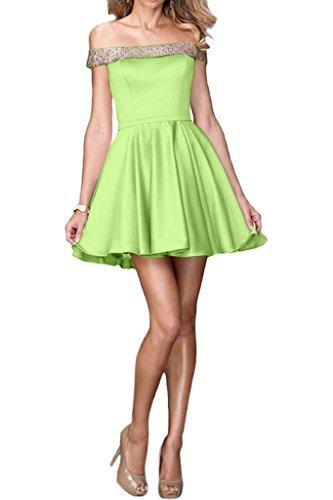 ivyd ressing robe courte ligne fabuleuses U de la découpe A mommé Prom Party robe robe du soir Jaegergruen