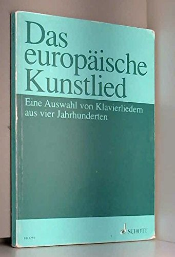 Europäische Kunstlied Arrgt:JUERGENSON - Cht/Po