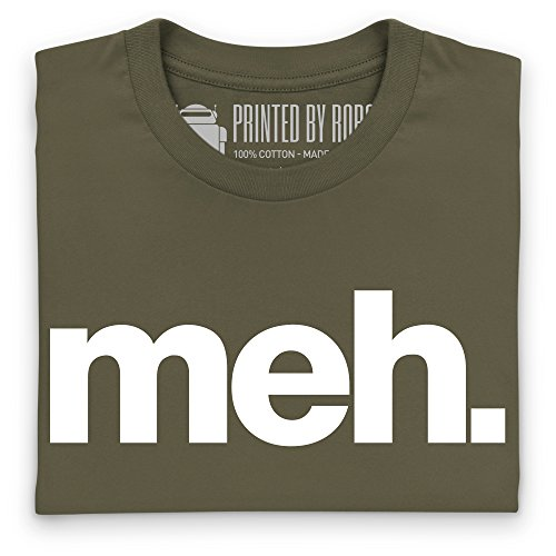 Meh T-shirt, Uomo Verde oliva