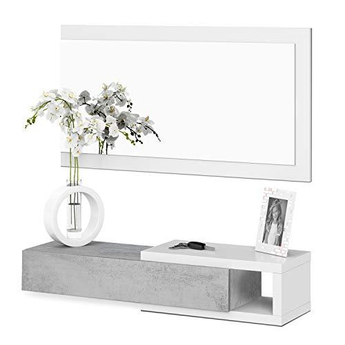 Habitdesign recibidor con cajón + Espejo