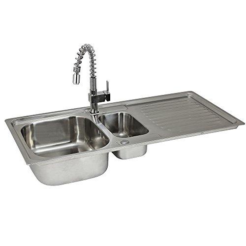 lavandino-da-cucina-in-acciaio-inossidabile-105cm-x-50cm-con-rubinetto-rainbow