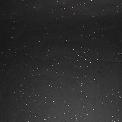 Glisten Gemstone Tissue Paper 10 Sheet Pkg (20 Sheets, Black Onyx) by Glisten Gemstone