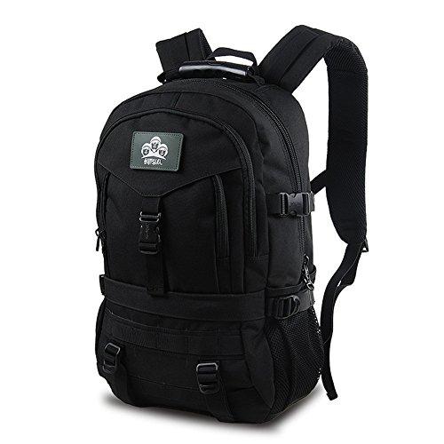 T & Y Business Reisen Rucksack Schule Rucksack Outdoor Sport Camping Wandern Tasche Military Tactical MOLLE Rucksack 40L Backpack