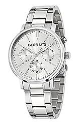 Idea Regalo - Morellato, Sorrento, orologio al quarzo da uomo con quadrante analogico e cinturino in acciaio inossidabile, colore argento, R0153128002