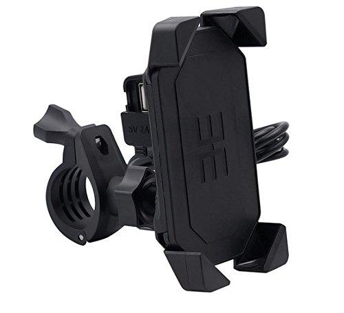 Comprajunta Soporte De X para Móvil GPS,Ajustable con Moto, Cargador De USB...