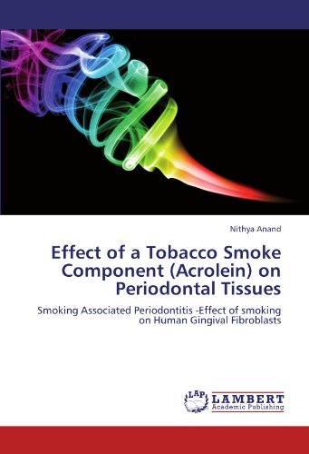 Effect of a Tobacco Smoke Component (Acrolein) on Periodontal Tissues: Smoking Associated Periodontitis -Effect of smoking on Human Gingival Fibroblasts