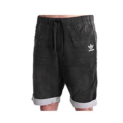adidas French Terry Denim Shorts Medium Grey Denim