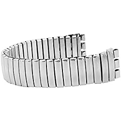 17mm Standard Swatch Style Replacement Stainless Steel Expansion Bracelet