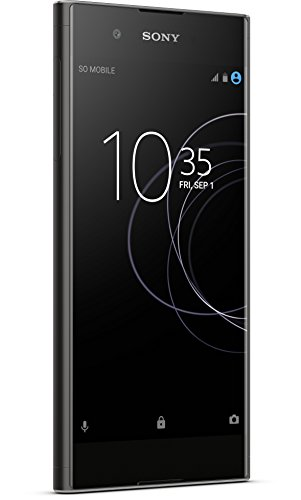 Sony Xperia XA1 Plus Smartphone (14 cm (5,5 Zoll)Display, 32 GB Speicher, Android 7.0) Schwarz - Sony Handy
