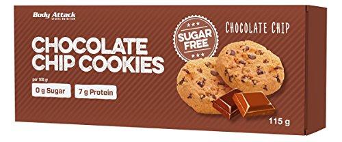 Low carb cookies - 6 x 20 gr chocolate - cioccolato