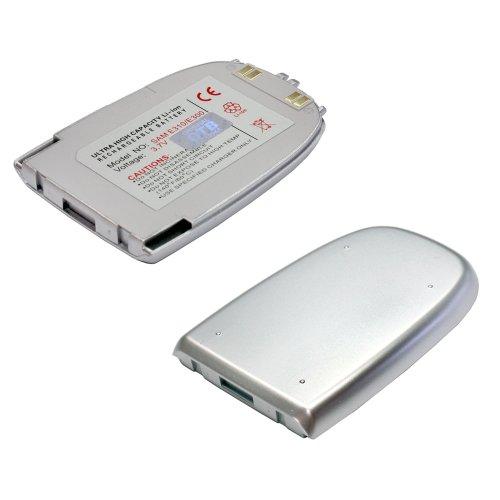 Akku für Samsung SGH-E300 (Li-Ion, silber)