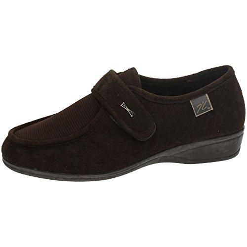 Doctor Cutillas 771 - Zapato Velcro Licra Marrón, Color marr?n, Talla 35