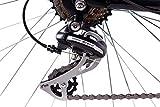 CHRISSON 28″ Zoll CITYRAD ALU Fahrrad E-Bike PEDELEC E-Gent mit 7G Shimano Schwarz 53cm- 71,1 cm (28 Zoll) - 6