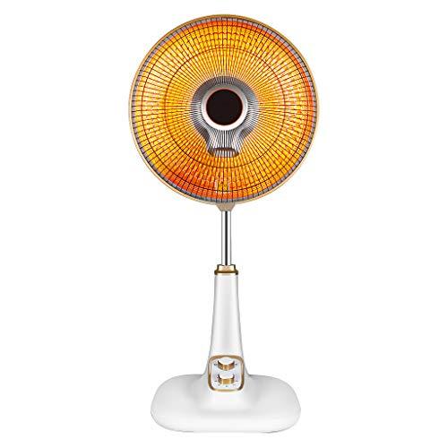 MMM@ Riscaldatore elettrico da letto Soggiorno veloce riscaldamento lampada alogena in Sinistra e Destra Shaking automaticamente testa 60 minuti di temporizzazione Soft Light Non Glare silenzioso