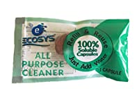 Ecosys Refill Pack: All-Purpose Cleaner water soluble capsule of 10ml-1 Litre